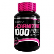 Л-Карнитин BioTech USA L-Carnitine caps 1000 мг 60 таблеток